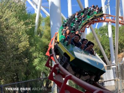 Our day at Six Flags Magic Mountain