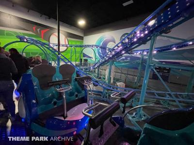 We ride two indoor spinning coasters in Ohio