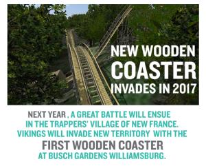 BGW Wooden Coaster