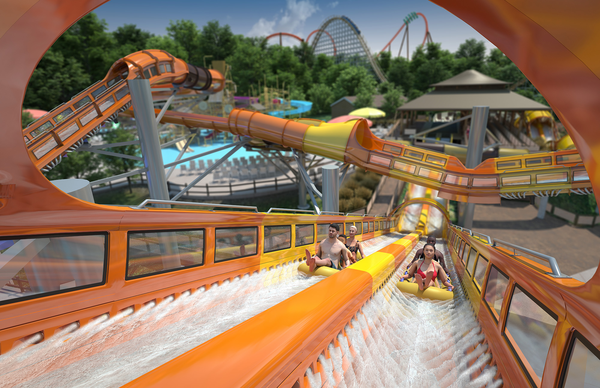 Holiday World Announces Dueling Launched Water Coaster!