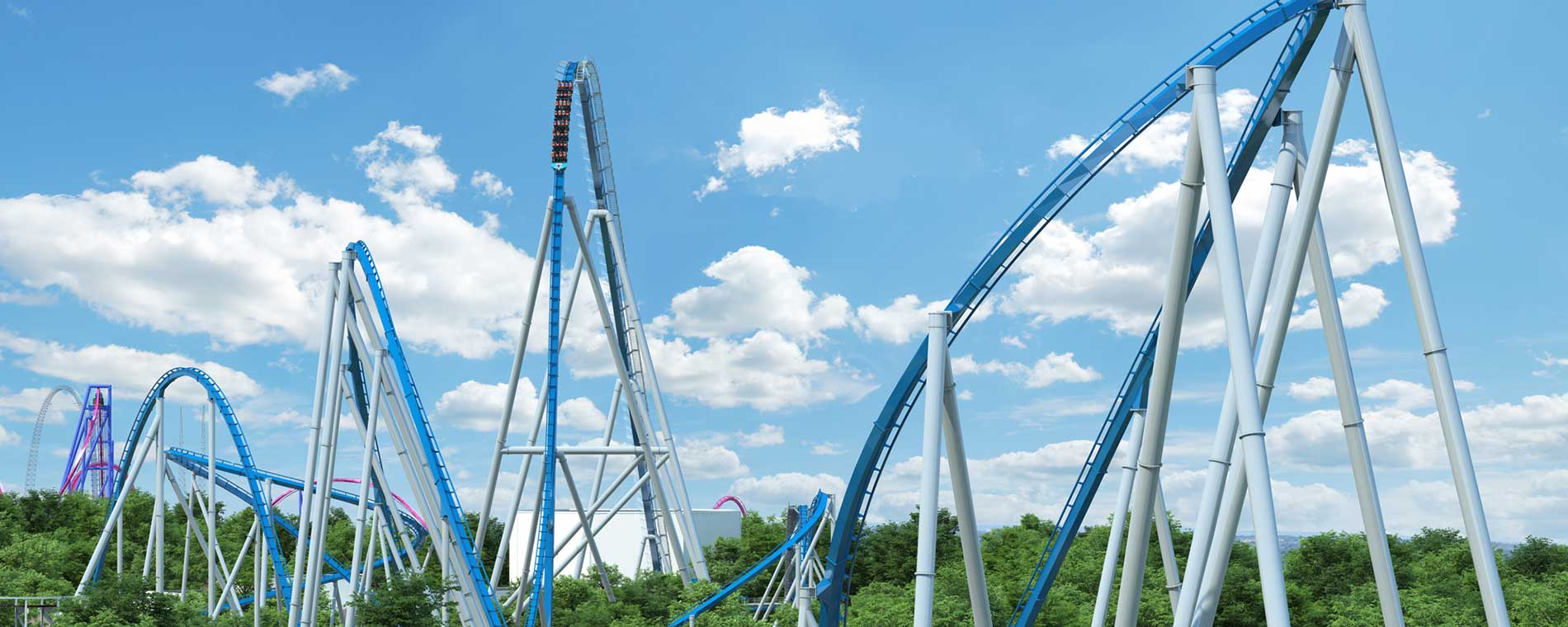Kings Island to open seventh giga coaster in the world for 2020!