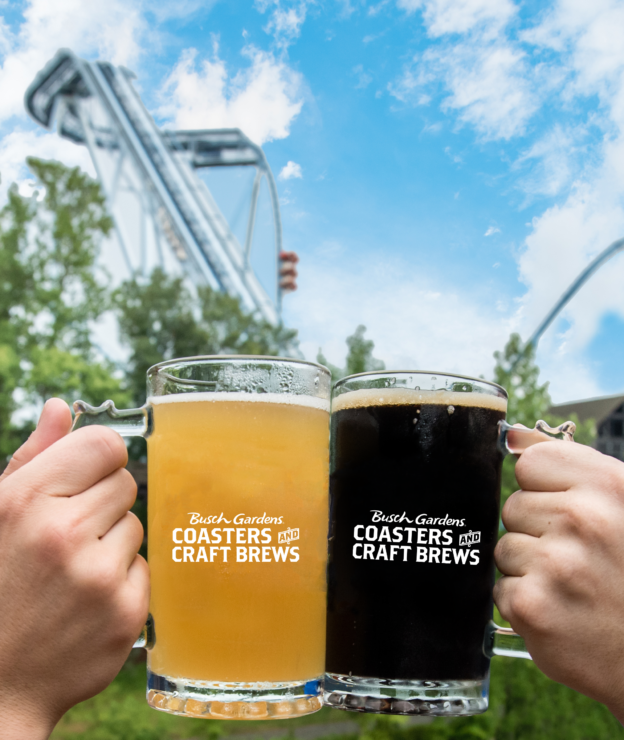 Busch Gardens Williamsburg Launches New Special Event – Coasters and Craft Brews