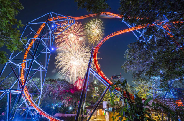 Summer Nights Returns With All New Laser and Fireworks Show, Extended Hours and Seasonal Eats!